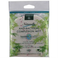 Earth Therapeutics Bamboo Benefits Anti-Bacterial Complexion Mitt - 1 Piece