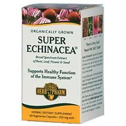 Herb Pharm - Super Echinacea 350 mg. - 60 Vegetarian Capsules