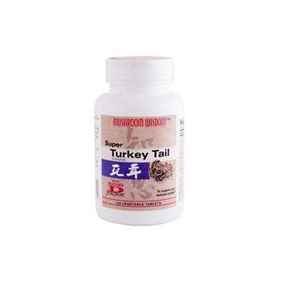 Mushroom Wisdom Super Turkey Tail 120 tabs from Maitake Products