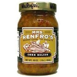 Mrs. Renfro's Gourmet Corn Relish 16 oz