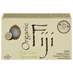 Organic Fiji Organic Face and Body Coconut Oil Soap - Tea Tree Spearmint