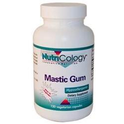 Nutricology 0524678 Mastic Gum - 120 Capsules