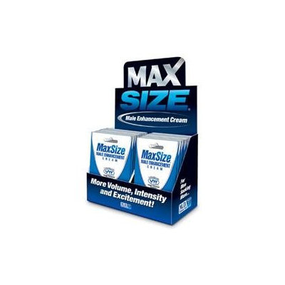 MaxSize Cream Topical Male Enhancement Cream(Case of 24)
