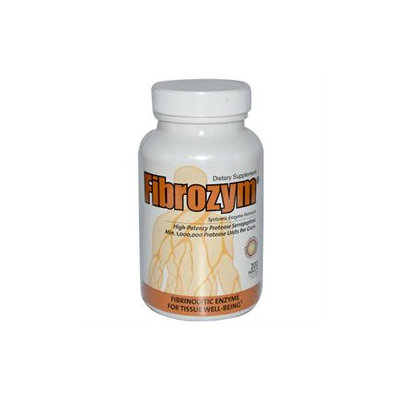 Naturally Vitamins Fibrozym, Tablets 200 ea