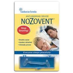 Scandinavian Formulas Nozovent Anti-Snore 1 Pack