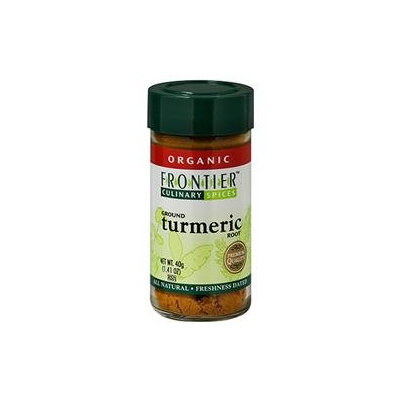 Frontier Natural Products - Turmeric Root Ground Organic - 1.41 oz.