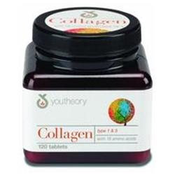 Youtheory Collagen Type 1 & 3 - 120 Tablets