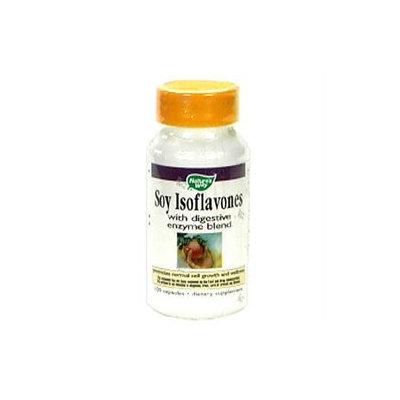 tures Way Nature's Way Soy Isoflavones With Digestive Enzymes - 100 Capsules