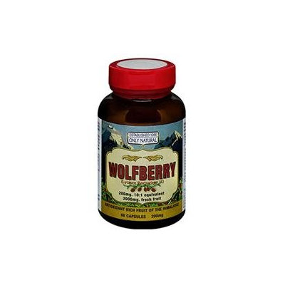 Only Natural Wolfberry - 200 mg - 60 Capsules
