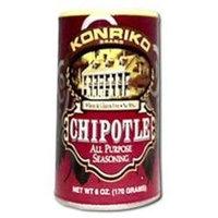 Konriko All Purpose Seasoning Gluten Free Chipotle - 6 oz