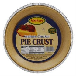 Mothers Pie Crust Graham Crckr 6 Oz Pack Of 12