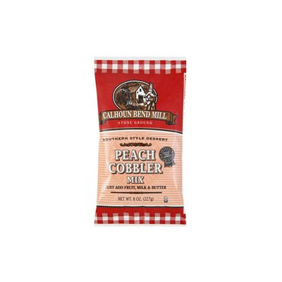 Calhoun Bend Mill Peach Cobbler Mix, - CALHOUN BEND MILL, INC.