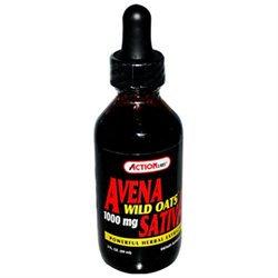 Action Labs Avena Sativa Wild Oats - 1000 mg - 2 fl oz