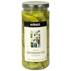 Krinos Pepperoncini, 16 oz, - Pack of 6