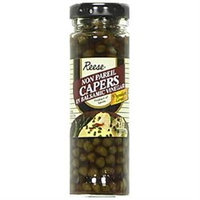 Reese Non Pareil Capers in Balsamic Vinegar - 12 Jars (3.5 oz ea)