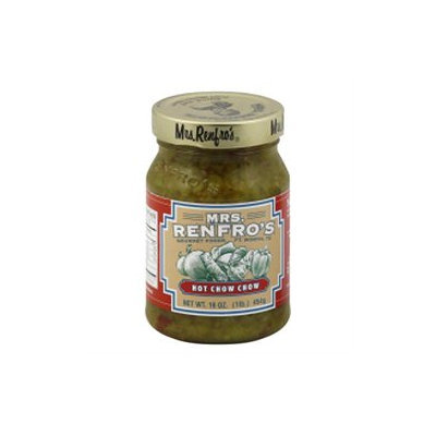 Mrs. Renfro's Mrs. Renfros Hot Chow Chow, 16 oz, - Pack of 6