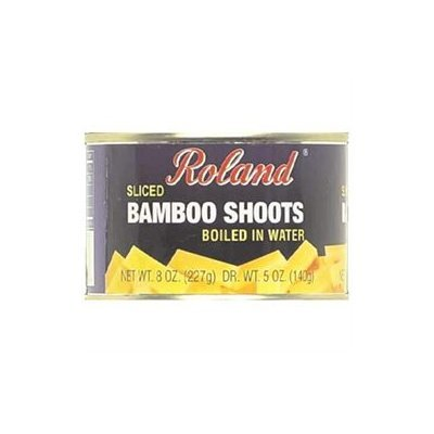 Roland Corporation Us Bamboo Shoots Sliced 8 OZ