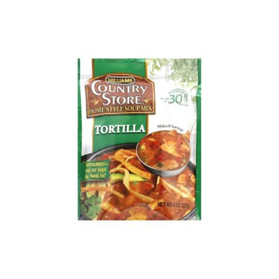 Williams Foods, Inc. Country Store Soup Mix, Home Style, Tortilla, 8 oz (227 g)