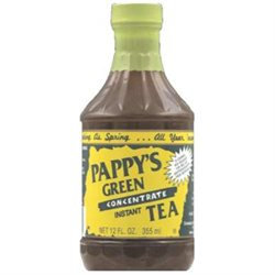Pappy's Pappys Green Instant Tea, 12 oz, - Pack of 6