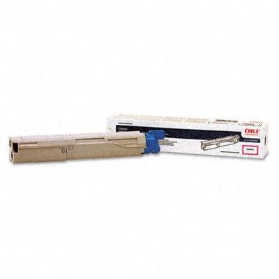 Okidata Corporation 43459402 Toner Cartridge, Magenta - OKIDATA