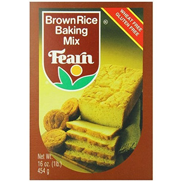 Fearn Brown Rice Baking Mix, 16 Ounce (Pack of 12)