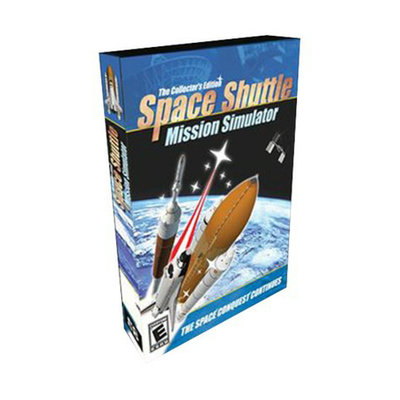 Red Corduroy Space Shuttle Mission Simulator