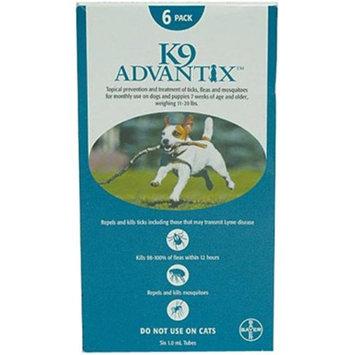 Advantix ADVX-TEAL-20-4 4 Mont