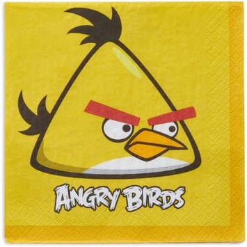 Amscan 220742 Angry Birds Lunch Napkins