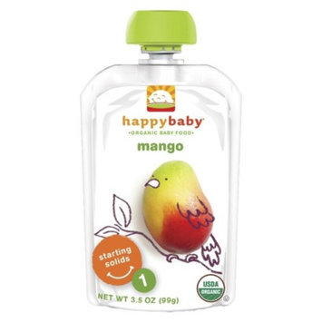 Happy Baby Organic Baby Food Stage 1 - Mango (8 Pack)