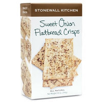 Stonewall Kitchen Sweet Onion Flatbread Crisps, 5.8-Ounce (Pack of 3)