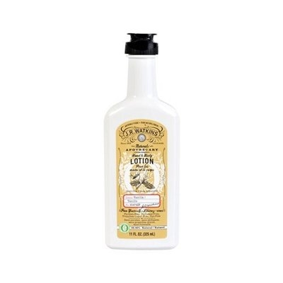 J. R. Watkins Vanilla Hand & Body Lotion 11 oz