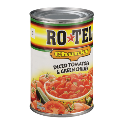 Rotel Chunky Diced Tomatoes & Green Chilies