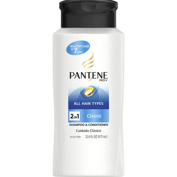 Pantene Pro-V Classic All Hair Types 2 in 1 Shampoo & Conditioner
