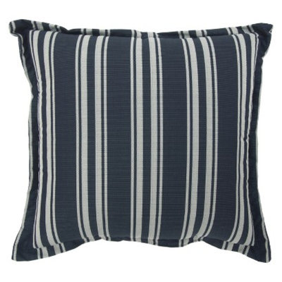 Threshold Outdoor Deep Seating Back Cushion - Navy Stripe
