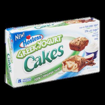 Hostess Greek Yogurt Cakes Apple Cinnamon Swirl - 8 CT