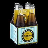 Boylan Bottleworks Brand Creme Vintage Soda Pop - 4 CT
