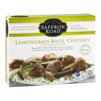 Saffron Road Lemongrass Basil Chicken With Jasmine Rice