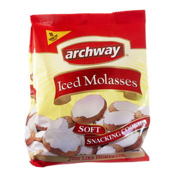 Archway Iced Molasses Soft Snacking Cookies