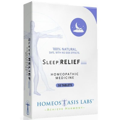 Homeostasis Labs Sleep Relief, 50-Count