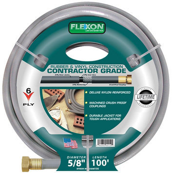 Flexon 5/8in x 100ft Contractor Garden Hose