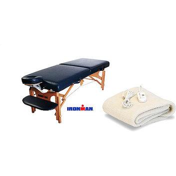 Ironman Mojave Massage Table and Table Warmer Bundle