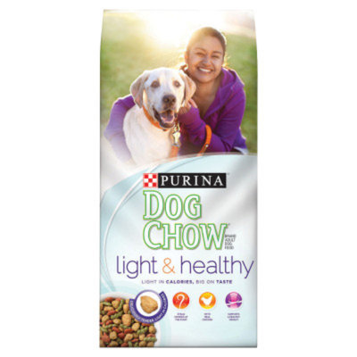 PurinaA Dog Chow Light & Healthy Adult Dog Food