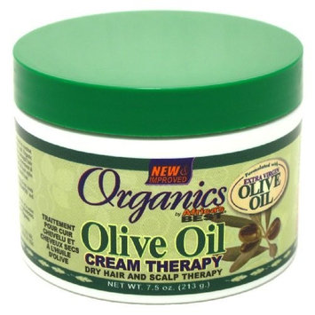 Africa's Best Organics Olive Oil Dry Hair and Scalp Therapy, 7.5 oz.