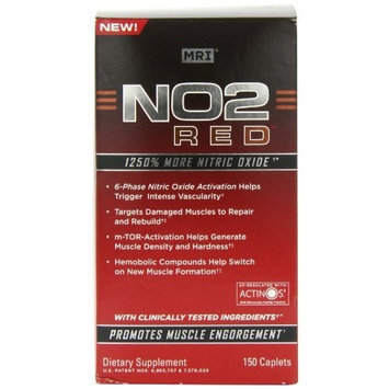 N02 Red MRI NO2 Red, Caplets 150 ea