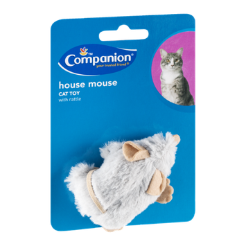 Companion Cat Toy House Mouse