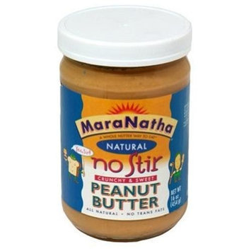 Maranatha No Stir, Crunchy & Sweet, 16-Ounce (Pack of 12)