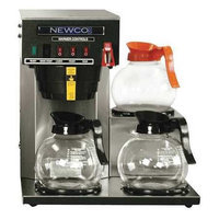 NEWCO COFFEE FC-3 Brewer, 3 Station Lower, Auto, Faucet