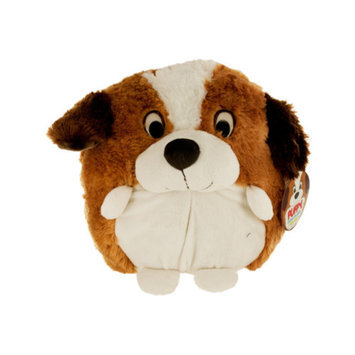 Bulk Buys OD318 Puffy Plush Saint Bernard - 6-Pack