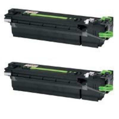 MICR Toner International MTI AR-455MT/NT 2-pack Compatible Black Toner Cartridge for Sharp AR-M350U, M351U, M355N, 355N, 355U, 455N, 455U, MX-355, M450, M455 printers