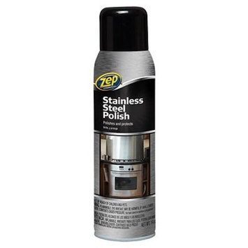 Enforcer Zep Commercial Stainless Steel Polish, 14-Ounce